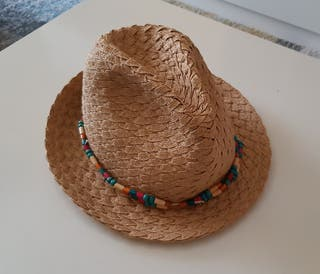 sombrero paja verano tipo Panamá