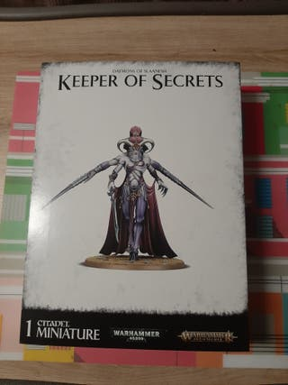 Guardian de los secretos Slaanesh/Keeper of Secret