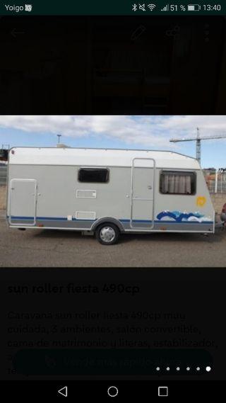 caravana sun roller fiesta 490cp
