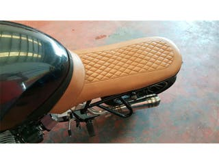Tapizado Asientos Moto Polipiel