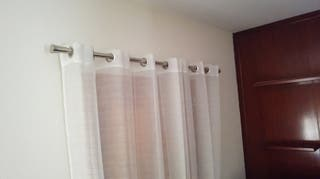 Dos Barras de cortinas