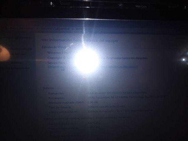 Ordenador portatil HP Tx2032la tactil