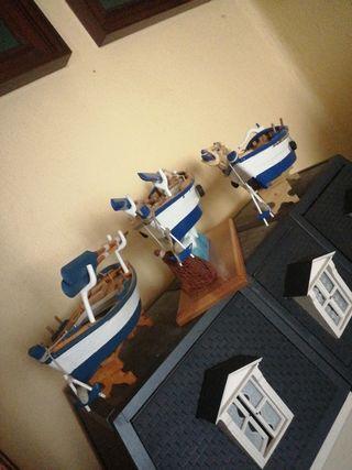 maquetas de barcas