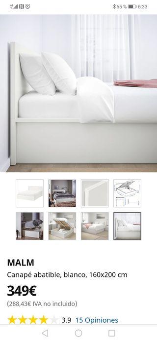 Cama Abatible Ikea De Segunda Mano En Wallapop