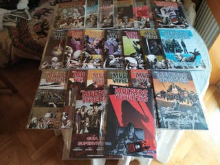 """Coleccion Comics """"Los Muertos Vivientes"""""""