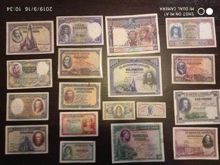 lote billetes de la republica