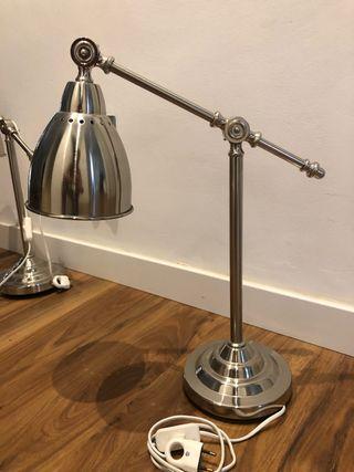 Lámpara Flexo Barometer COLOR PLATA