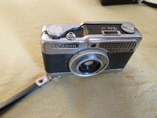 camara de fotos canon demi de los años 60