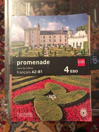 Promenade Français A2-B1 4 ESO Hachette Francés