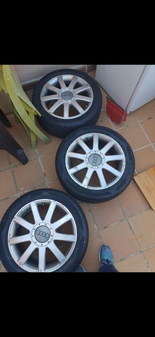 Llantas Audi originales 235-45-R17