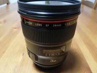 Canon EF 24 mm F1.4 L USM II 77 mm