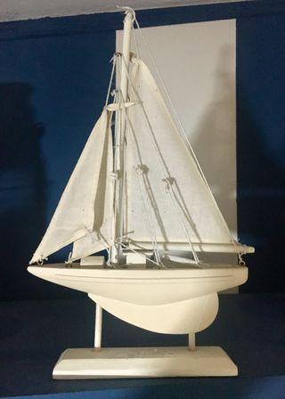Barco Velero decoración marinera 20x27