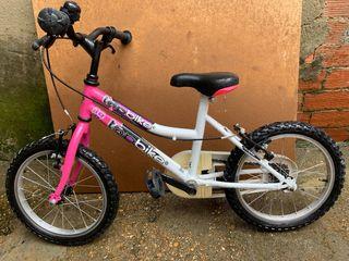 Bicicleta segunda edad, niño niña