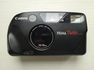 Cámara de fotos Canon prima twin