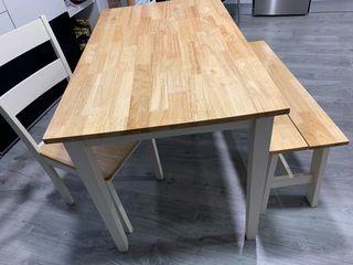 Mesa madera cocina/comedor
