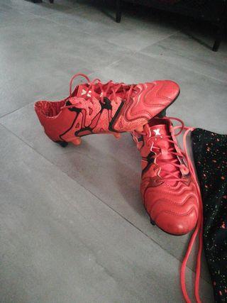 Botas de Futbol Adidas X 15.1 ALTA GAMA Piel
