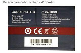 batería nueva para Cubot note s.