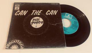 SUZI QUATRO Can the can Disco Vinilo Single