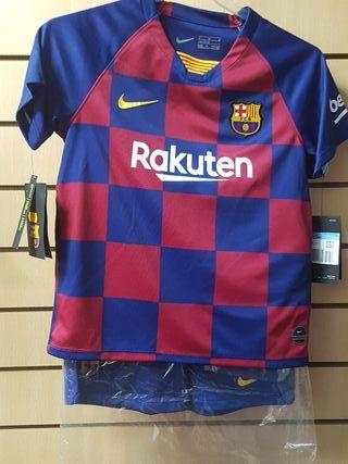 camiseta FC Barcelona 19/20 talla M niño