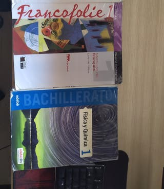 Libros 1° Bachillerato