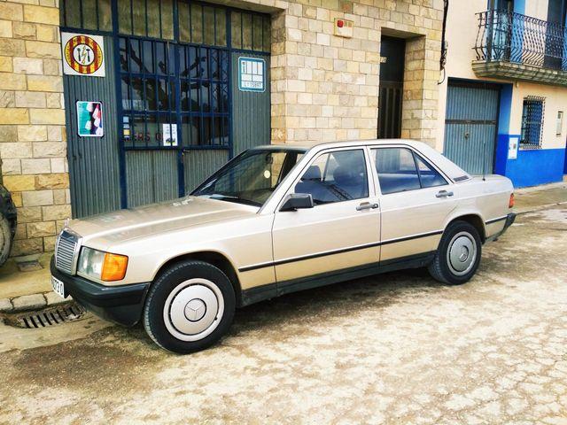 Mercedes-Benz 190 2.5D (W201) 1985