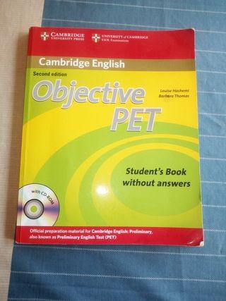 objective pet Cambridge english