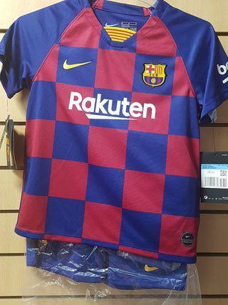conjunto FC Barcelona 19/20 talla XS niño