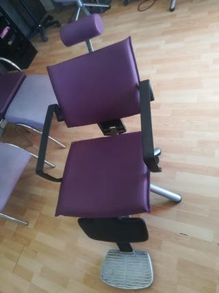 sillon reclinable estilo barbero