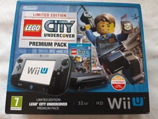 consola wii u + Lego city