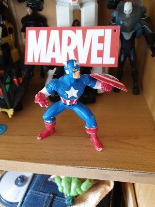 Figura de Capitán América en pvc Marvel