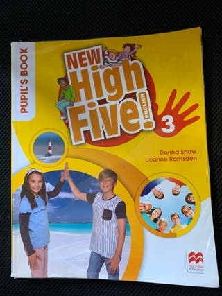 Libro de ingles 3º de Primaria. New High Five
