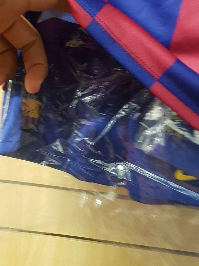 Conjunto FC Barcelona 19/20 talla XL niño