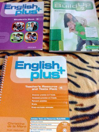 English plus 3 , English plus 4, y Build up 2