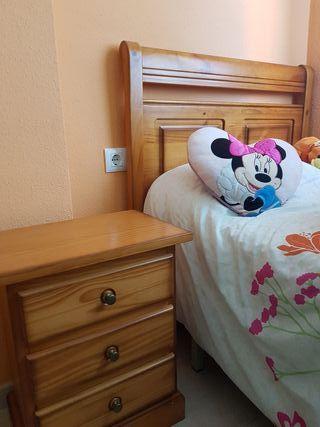 vendo conjunto dormitorio mueble provenzal