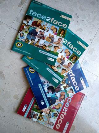 Lote libros inglés A1, A2, B1, B2