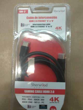 Cable HDMI 4k gaming Sherwood