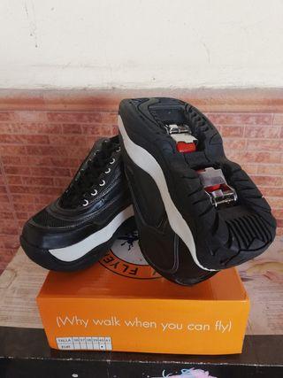 zapatos patines nuevos