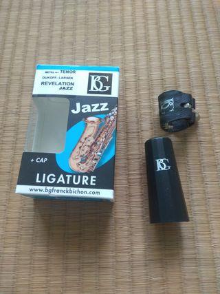 "Abrazadera BG saxo tenor ""Revelation Jazz"" L21RJ"