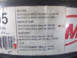 discos de freno delanteros de mercedes Benz w126