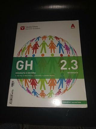 Libro Geográfia E Historia 2.3