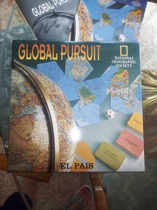 juego mesa global pursuit/ trivial