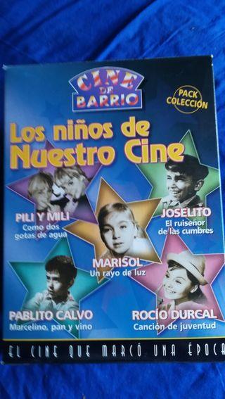 Pack Los niños de nuestro cine. VHS