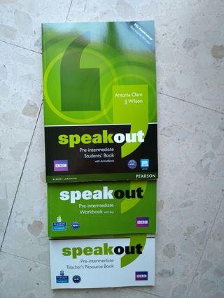 Libros inglés A2 - B1 Speakout Pre-Intermediate
