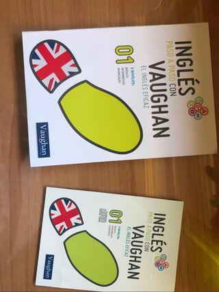 Libro: Inglés paso a paso con Vaughan 1 + CD
