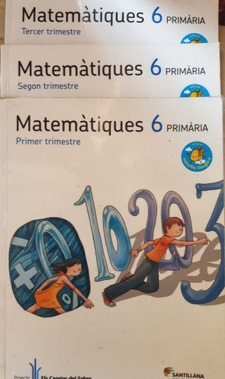 Libros Matemática 6 primaria