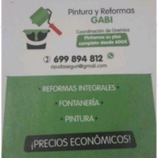 REJUVENECE TU CASA DESDE 600E Y REFORMAS ECONÓMICA