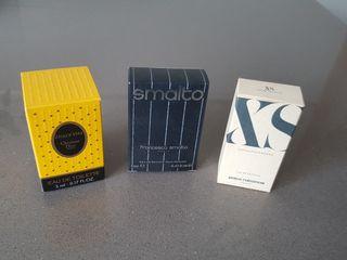 Lote de 3 perfumes miniatura