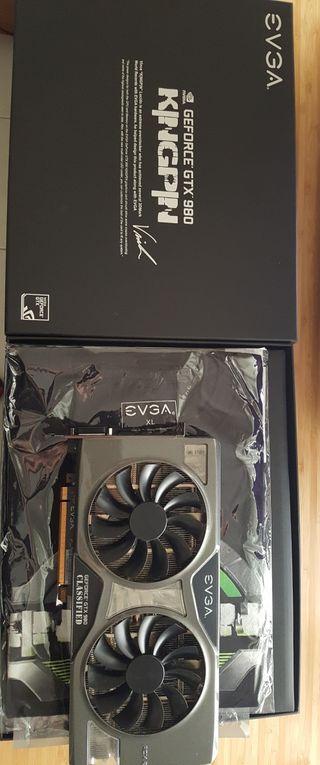 EVGA GTX 980 CLASSIFIED Kingpin AC 2.0+