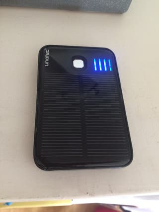 Cargador Solar Bateria Externa