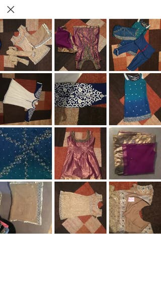 Indian mix dresses size 6/8 and 10